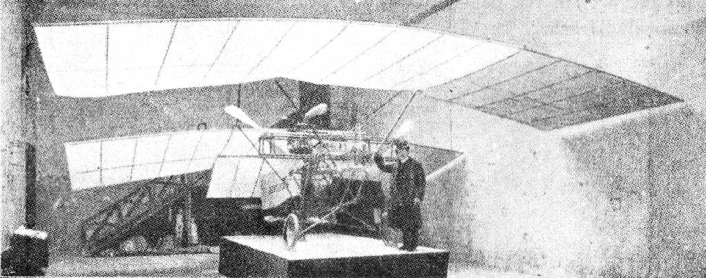 HIPSSICH (1908). Tandem mono. with one propeller before