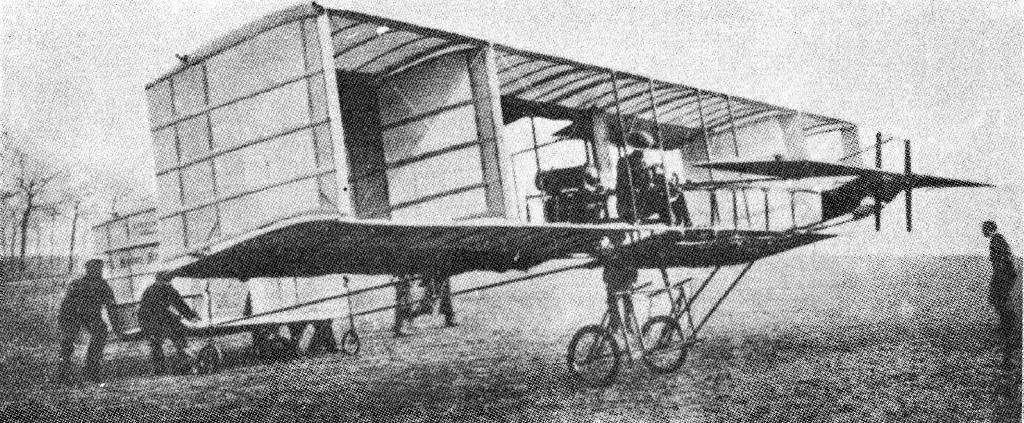 VOISIN (1908). The first European aeroplanes to fly with