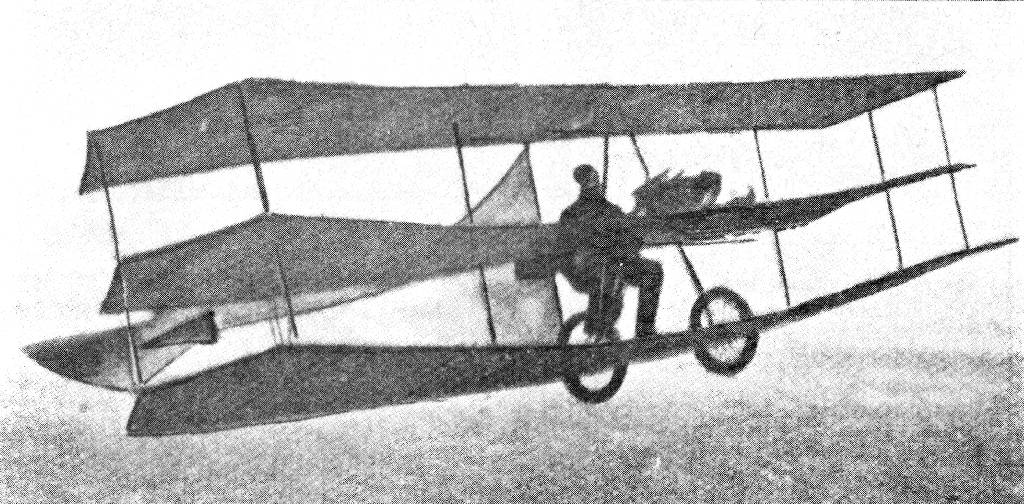 GRADE (1908). The first German built machine to fly.