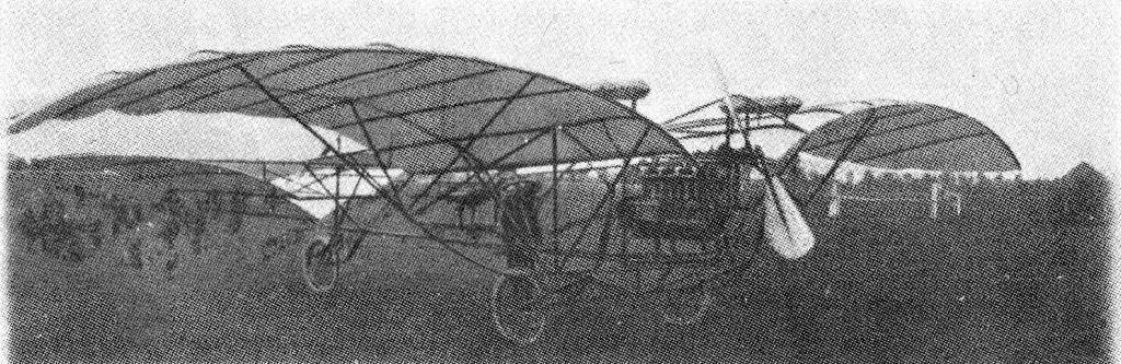 MILLER (1908-09). First aeroplane to be designed and